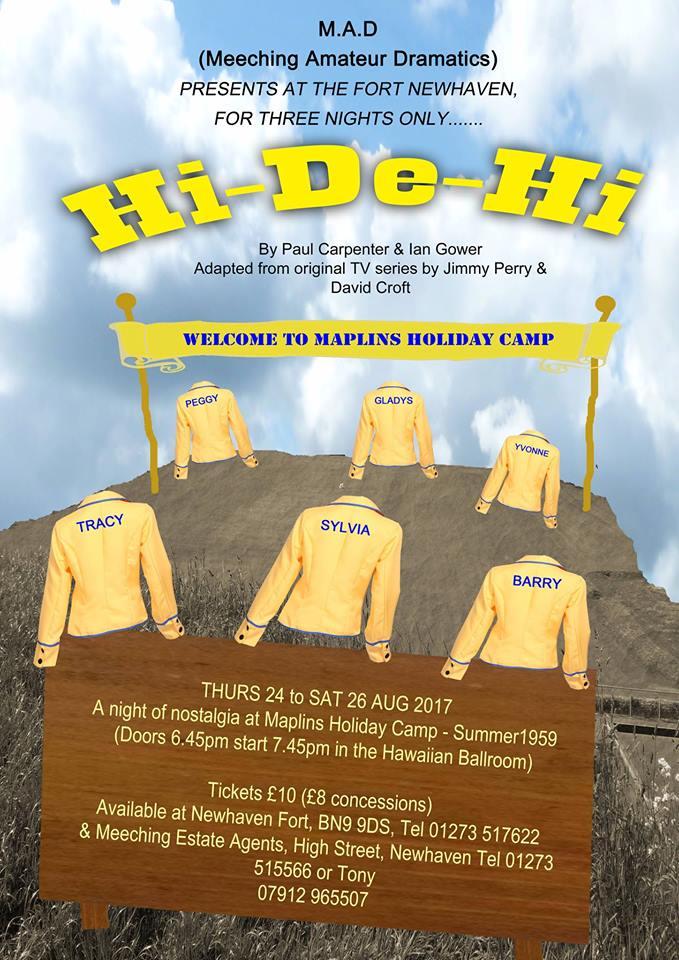 Hi-De-Hi – Thursday 24th – Saturday 26th August
