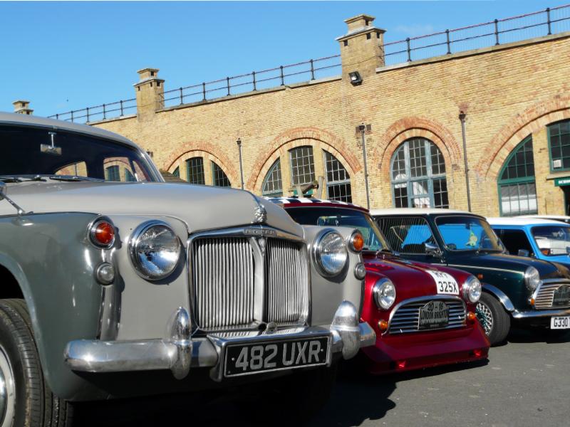 Classics United Car Show – Sunday 8th October