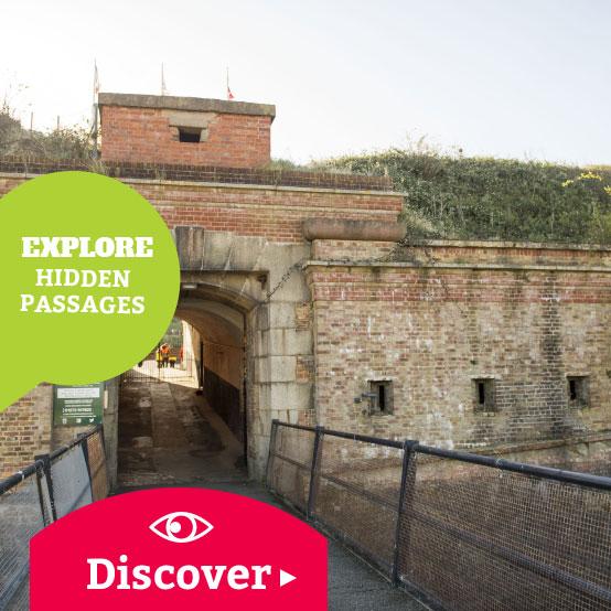 Explore hidden passages - Discover