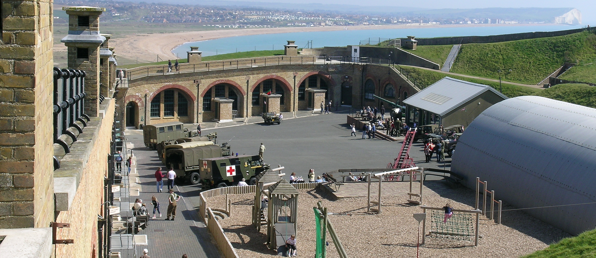 Watch history come alive at Newhaven Fort May Half Term