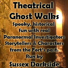 Sussex Darkside Theatrical Ghost Walks – various dates