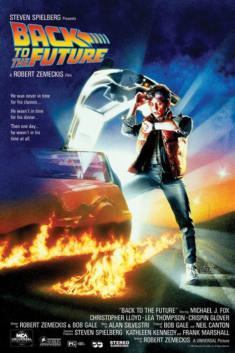 Back To The Future Cinestock Open Air Cinema 18th August