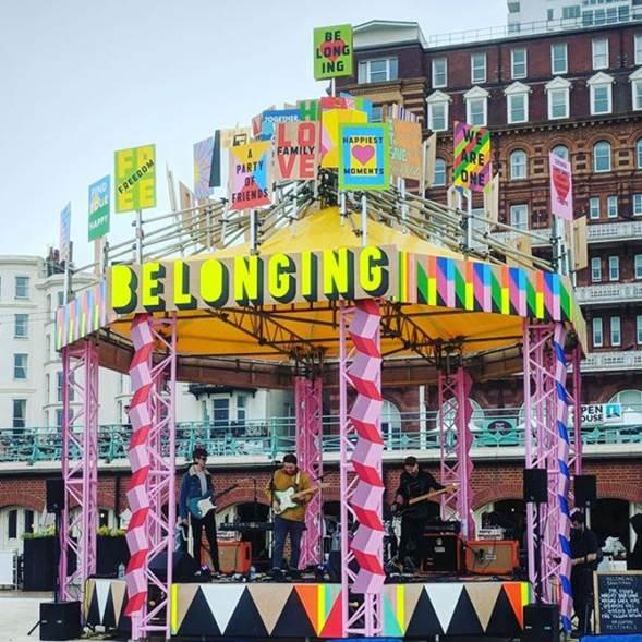 Morag Myerscough's Belonging Bandstand 24 – 27 August