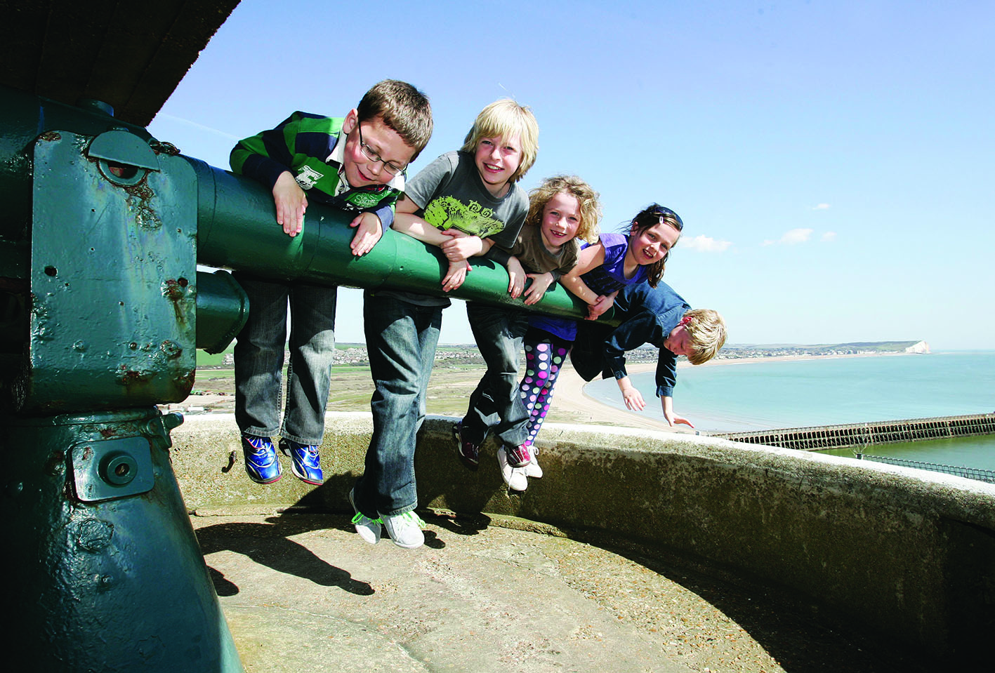10 Things to Explore at Newhaven Fort Before You're 10 Years Old